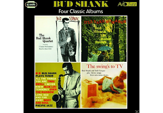 Bud Shank - 4 Classic Albums - (CD)