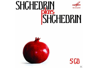 RODION SHCHEDRIN, PIANO, ORGA - Schtschedrin Plays Schtschedrin - (CD)