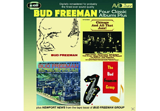 Bud Freeman - 4 Classic Albums Plus - (CD)