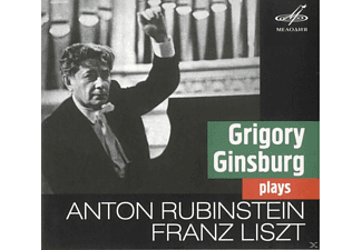 Grigori (1904-1961) Ginsburg, State Academic Symphony Orchestra - Gregory Ginsburg plays Liszt & Rubinstein - (CD)