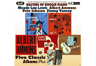 Albert Ammons, Pete Johnson, Jimmy Yancey, Meade Lux Lewis - Five Classic Albums Plus - (CD)
