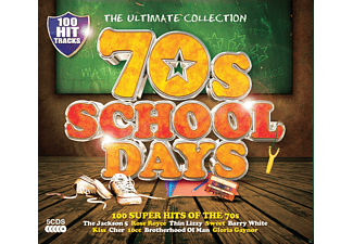 VARIOUS - 70s Schooldays - (CD)