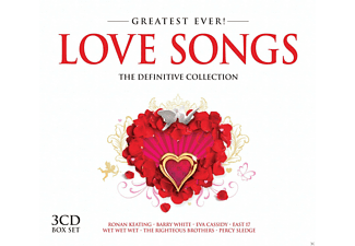 VARIOUS - Love Songs-Greatest Ever [CD]