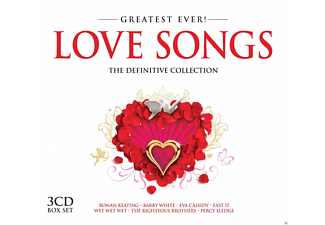 VARIOUS - Love Songs-Greatest Ever - (CD)