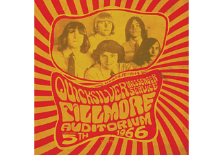 Quicksilver Messanger Service - Fillmore Auditorium Nov 5 1966 - (CD)
