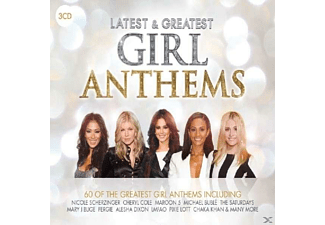VARIOUS - Latest &Greatest: Girl Anthems [CD]