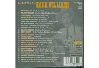 VARIOUS - A Tribute To Hank Williams [CD]