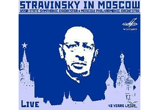 Moscow State Philharmonic Orchestra & Ussr State Symphony Or - STRAVINSKY IN MOSCOW - (CD)