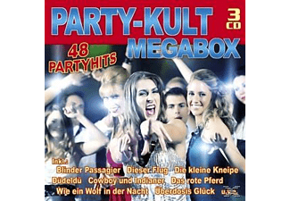VARIOUS - Die Party-Kult-Megabox (Ltd.Edt.) [CD]