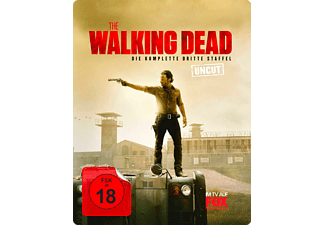 The Walking Dead - Staffel 3 (Limited Steelbook Uncut Edition) - (Blu-ray)