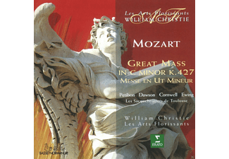 VARIOUS, William Christie, Les Sacqueboutiers De Toulouse, Les Arts Florissants - Great Mass In C Minor Kv 427 [CD]
