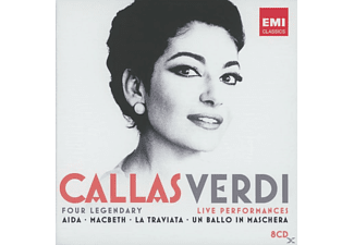 Maria Callas, VARIOUS - Verdi Live Performances [CD]