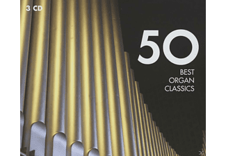 VARIOUS - 50 Best Organ Classics - (CD)