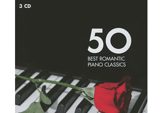 VARIOUS - 50 Best Romantic Piano Classics [CD]