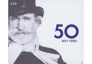 Maria Callas, José Carreras, Plácido Domingo, Mirella Freni, VARIOUS - 50 BEST VERDI [CD]
