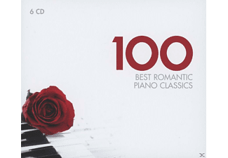 VARIOUS - 100 Best Romantic Piano Classi - (CD)