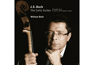 William Butt - The Cello Suites - (CD)