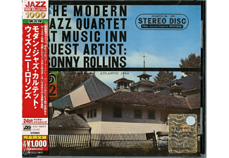 The Modern Jazz Quartet - At Music Inn Guest Artist: Sonny Rollins [CD]
