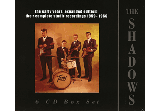 The Shadows - The Early Years (Expanded Edition) 1959-1966 - (CD)