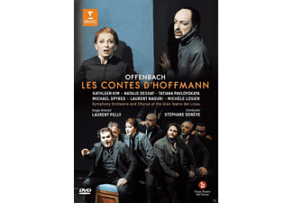 Symphony Orchestra and Chorus of the Gran Teatre del Liceu - Les Contes D'hoffmann (Hoffmanns Erzählungen) - (DVD)