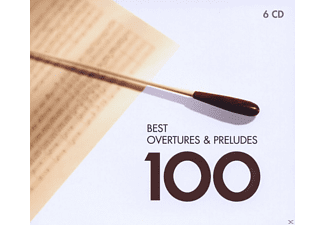 VARIOUS - Best Overtures & Preludes 100 - (CD)