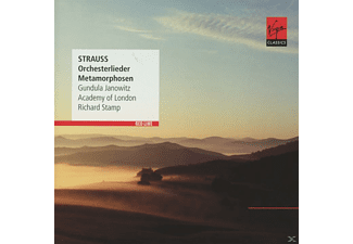 Gundula Janowitz, Academy Of London - Orchesterlieder/Metamorphosen [CD]