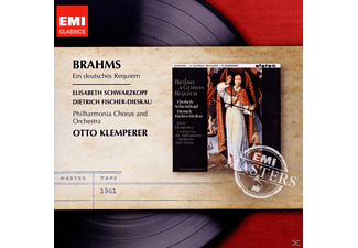 Johannes Brahms, Otto Klemperer - EIN DEUTSCHES REQUIEM - (CD)