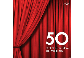 VARIOUS - 50 Best Songs From Musicals [CD]