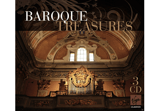 VARIOUS, Various Orchestra - Baroque Treasures - (CD)