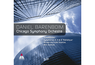 Chicago Symphony Orchestra - Sinfonien 4, 5 & 6 / Pathetique / Romeo & Juliet Overt / 1812 Overt [CD]