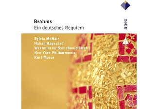 Sylvia Mcnair, Hakan Hagegard, Westminster Symphonic Choir, New York Philharmonic - Ein Deutsches Requiem - (CD)