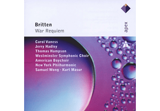 Kurt Masur, Jerry Hadley, Thomas Hampson, Westminster Symphonic Choir, New York Philharmonic, American Boychoir, Edward Benjamin Britten, Carol Vaness - War Requiem [CD]