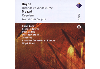 Carys Lane, Frances Bourne, Paul Badley, Matthew Brook, Tenebrae, Chamber Orchestra Of Europe, Nigel Short - Insane Et Vanae Curae / Requiem / Ave Verum Corpus [CD]