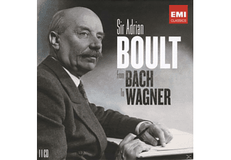 The London Philharmonic Orchestra, Sir Adrian Boult - From Bach To Wagner - (CD)