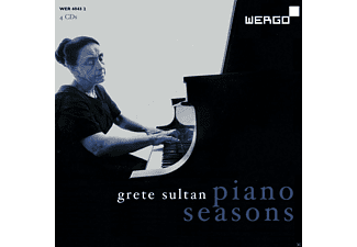 Grete Sultan - Piano Seasons - (CD)