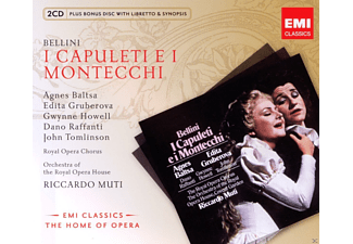 Edita Gruberova, Agnes Baltsa, Gwynne Howell, John Tomlinson, Royal Opera Chorus, Orchestra Of The Royal Opera House - I Capuleti E I Montecchi [CD]