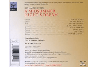 VARIOUS, City Of London Sinfonia, Trinity Boys Choir - A Midsummer Night's Dream - (CD + CD-ROM)