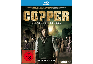 Copper - Justice is brutal - Staffel zwei [Blu-ray]