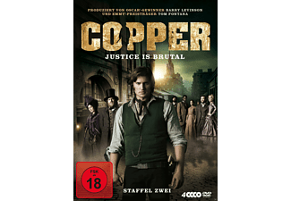 Copper - Justice is brutal - Staffel zwei [DVD]
