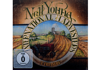 Neil Young & International Harvesters - A Treasure - (CD + Blu-ray Disc)