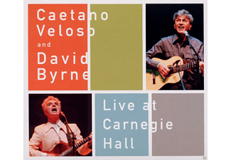 Caetano Veloso And David Byrne - Caetano Veloso And David Byrne: Live At Carnegie Hall [CD]