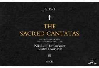 Nikolaus Harnoncourt - Complete Sacred Cantatas - (CD)