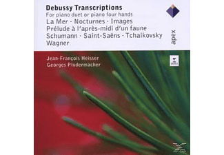 G. Pludermacher - Debussy Transcriptions - (CD)