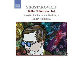 Russian Philharmonic Orchestra, Dmitry Yablonsky Russian Philharmonic Orchestra - Ballettsuiten 1-4 - (CD)