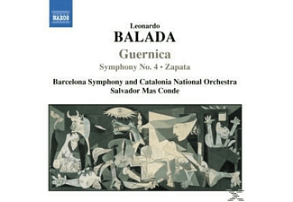 Barcelona Symphony Orchestra & Catalonia National Orchestra, Salvador/barcelona Symphony Mas Conde - Guernica/Zapata/Sinfonie 4 - (CD)