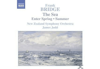 James Judd New Zealand Symphony Orchestra - The Sea/Enter Spring/Summer - (CD)