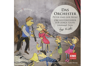 WARNER MUSIC GROUP GERMANY Das Orchester - Peter und der Wolf