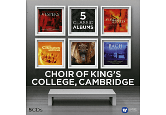 Kings College Choir Cambridge - Five Classic Albums [CD]