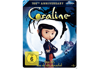Coraline (Steelbook Edition) [Blu-ray]