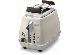 Broodrooster 'Icona Vintage' DeLonghi cr�me